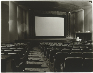 An empty movie theater, N.Y.C.
