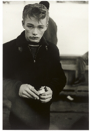 Teenage boy, N.Y.C. 1961