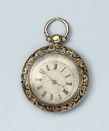 THREE ANTIQUE GOLD POCKETWATCH