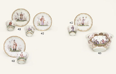 A MEISSEN CHINOISERIE BOWL