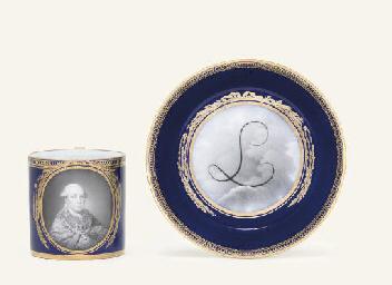 A MEISSEN (MARCOLINI) BLUE-GRO