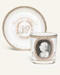 A FULDA PORTRAIT COFFEE-CUP AN