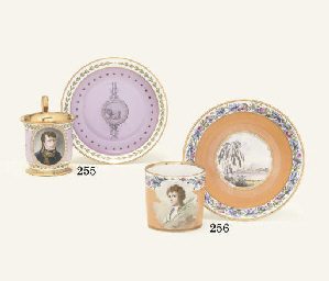 A SEVRES (HARD PASTE) PINK GRO