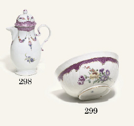 A GOTHA BALUSTER COFFEE-POT AN