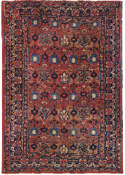 A KHORASSAN CARPET
