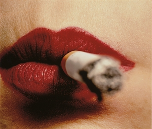 Cigarette and Lips, New York,