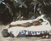 Naomi Campbell, Harper's Bazaar, Paul Gauguin Story, Jamaica, 1992
