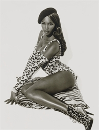 Naomi Seated, Hollywood, 1991