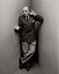 Igor Stravinsky, New York, Apr