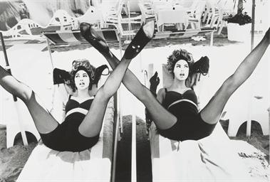 'W' Legs, New York, 1996