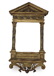 A NORTH ITALIAN PARCEL-GILT AN