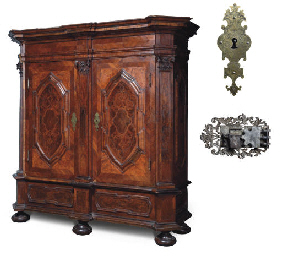 A GERMAN WALNUT, BURR-ELM, TUL
