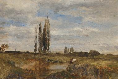 Landschaft bei Lundenburg: Wat