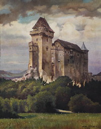 A view of Liechtenstein castle