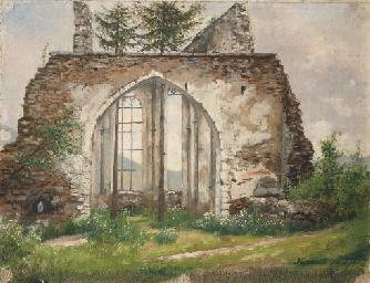 A church ruin