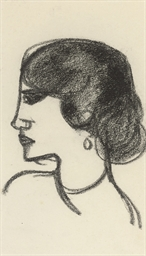 Woman with Earring