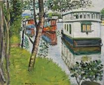 Houseboats, Loch Lomond