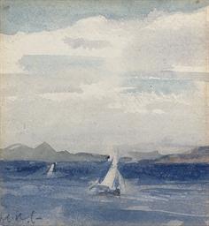 Yachts at Sea, Iona