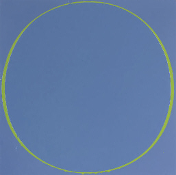 Untitled Circle Painting Purpl