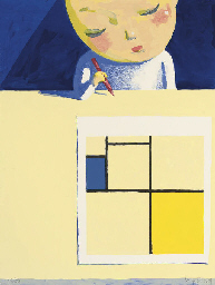 She and Mondrian