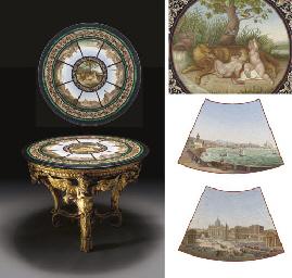 A FINE ROMAN MICROMOSAIC TABLE