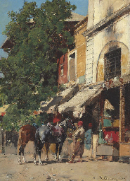 In the Marketplace, Istanbul