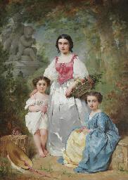 Portrait de la famille Gros