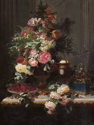 Still Life with Roses and Wild