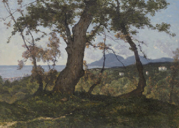 A Wooded Landscape with a View
