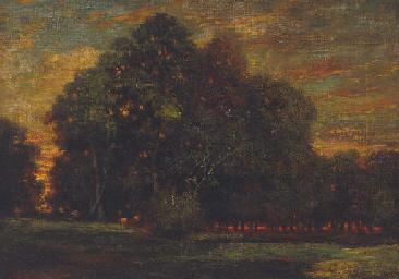 Coucher de soleil au Cuvier-Ch