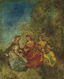 Les trois dames d'honneur