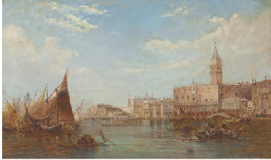 The Doge's Palace, Grand Canal