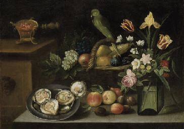 Still life with a parrot