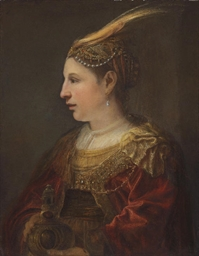 Portrait of a lady as Mary Mag