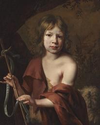 Portrait of a boy as Saint Joh