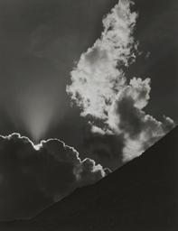 Evening Cloud, Sierra Nevada,