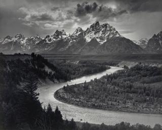 The Teton Range and the Snake