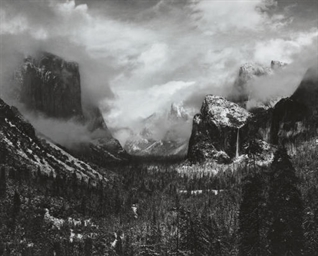 Clearing Storm, Yosemite Valle