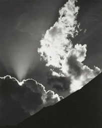 Cloud, Sierra Nevada, 1936
