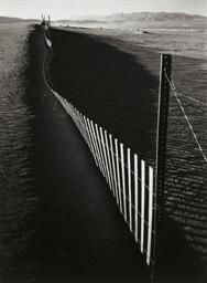 Sand Fence, Near Keeler, c. 19