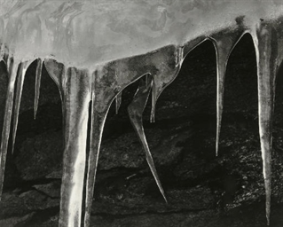 Icicles, Yosemite Valley, afte