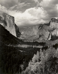 Thunderstorm, Yosemite Valley, 1945