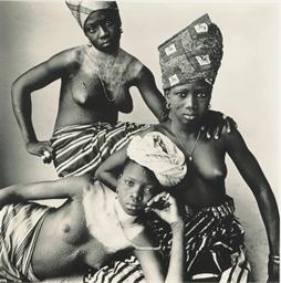 Three Dahomey Girls, 1967