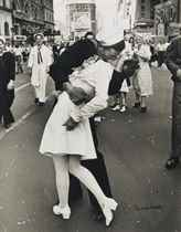 V.J. Day, Times Square, 1945