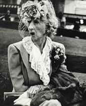 San Francisco, Woman with veil, 1949