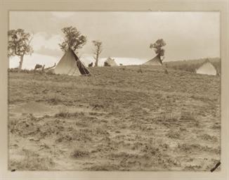 A Hilltop Camp- Jicarilla, 190