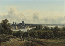 Gezicht op Arnhem: a panoramic view of Arnhem