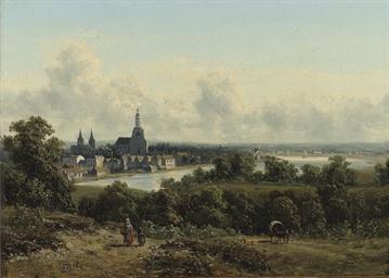 Gezicht op Arnhem: a panoramic