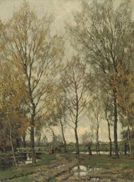 The Vordense Beek in Autumn