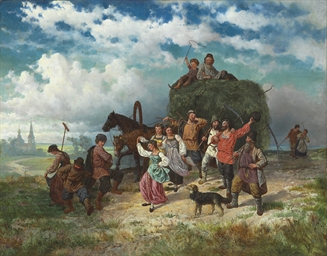 The harvest celebration